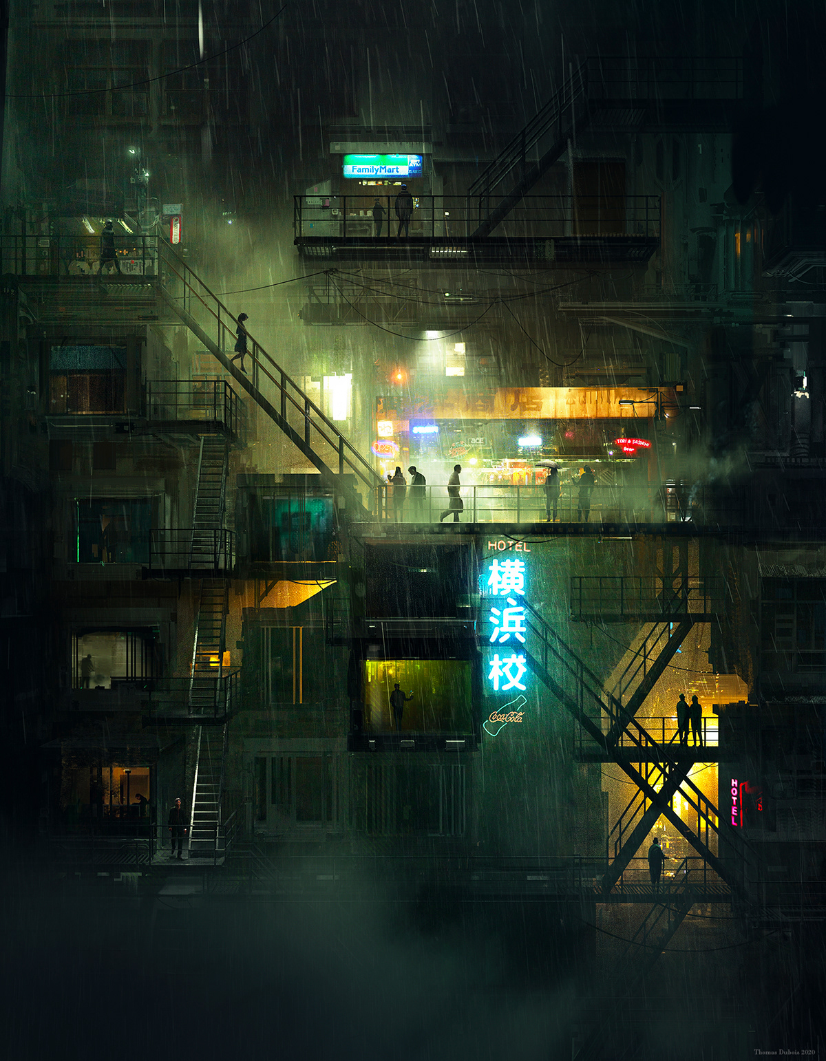 Feodora, a dystopian-inspired art series