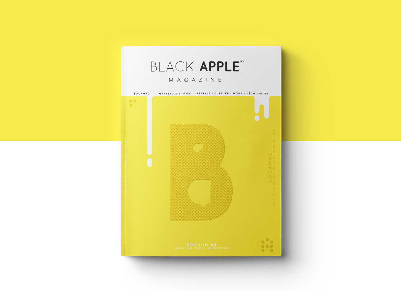 Editorial Design for the Beautiful Black Apple Magazine [BAM]