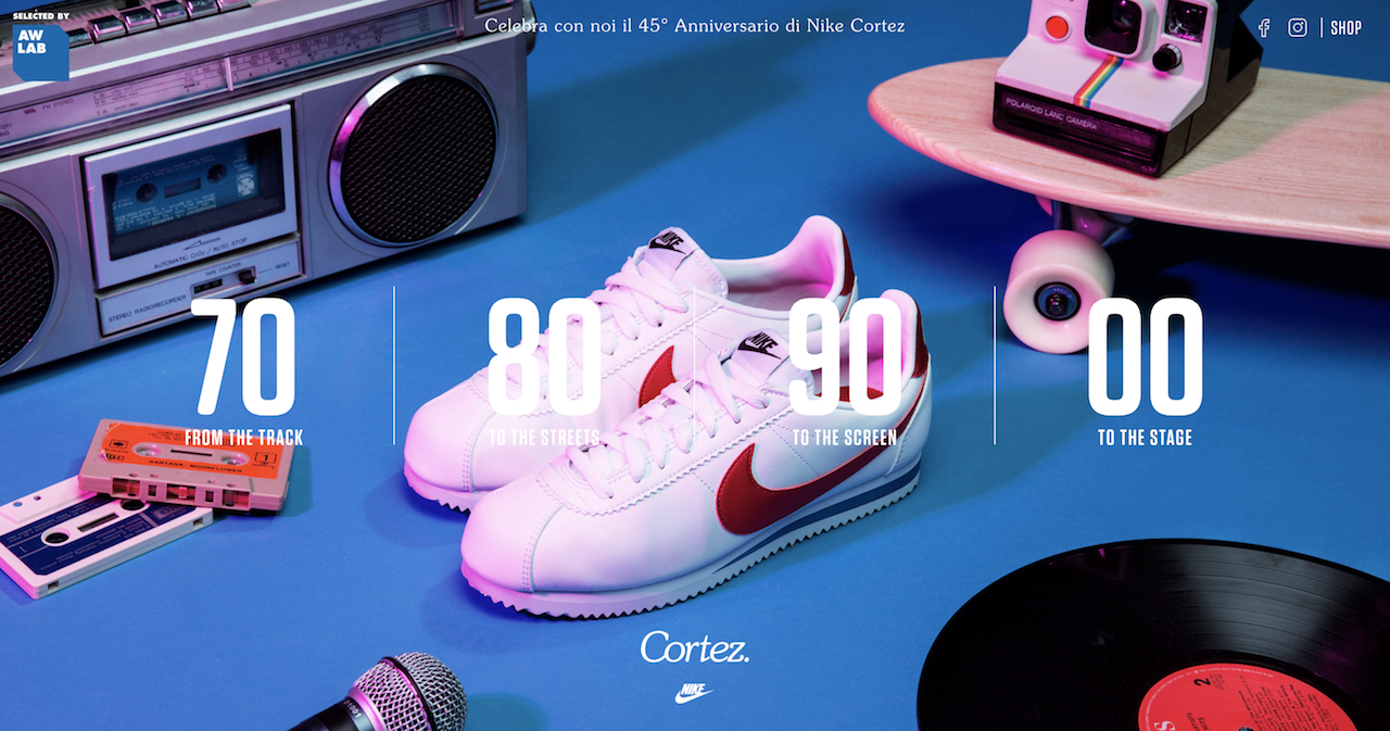 Celebrating the 45th Anniversary of Nike Cortez