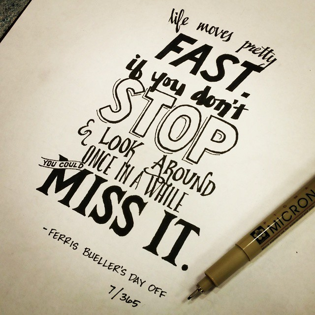 Typography Quotes Cool Movie Quotes Typography By Ian Simmons