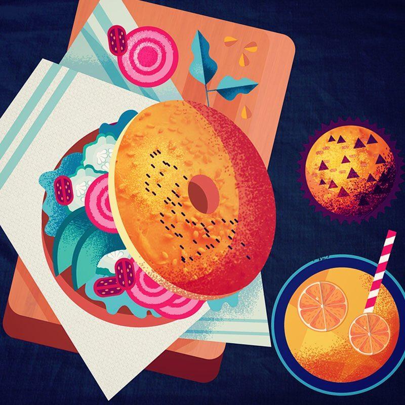 Stylish Illustrations by Maïté Franchi