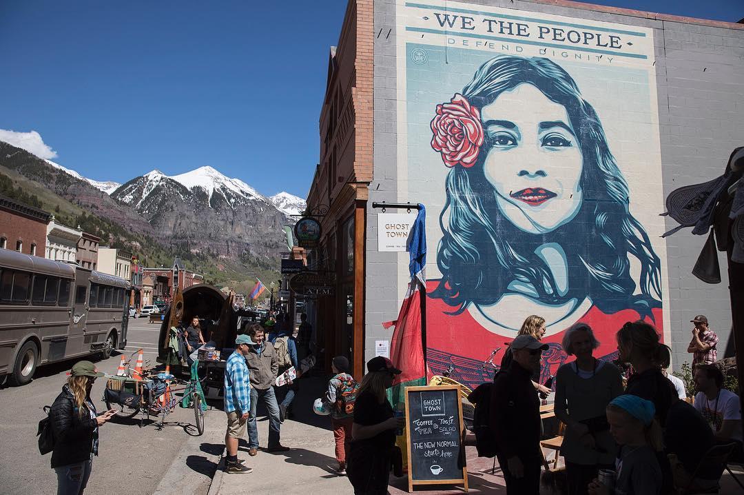 Street Art Master Shepard Fairey - Obey Giant
