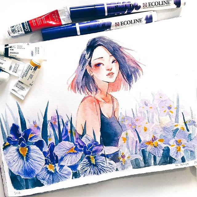 Watercolor artworks that are too good to be true