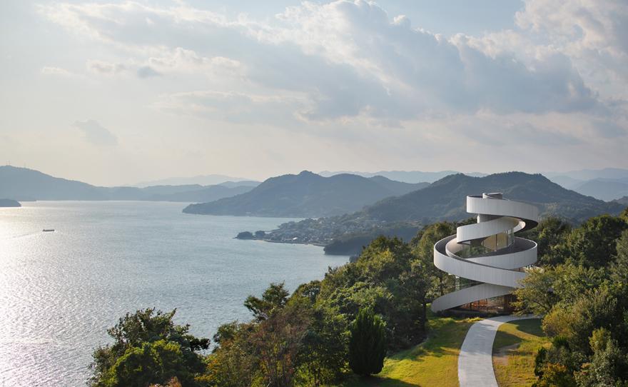 Exploring the Ribbon Chapel in Hiroshima Prefecture