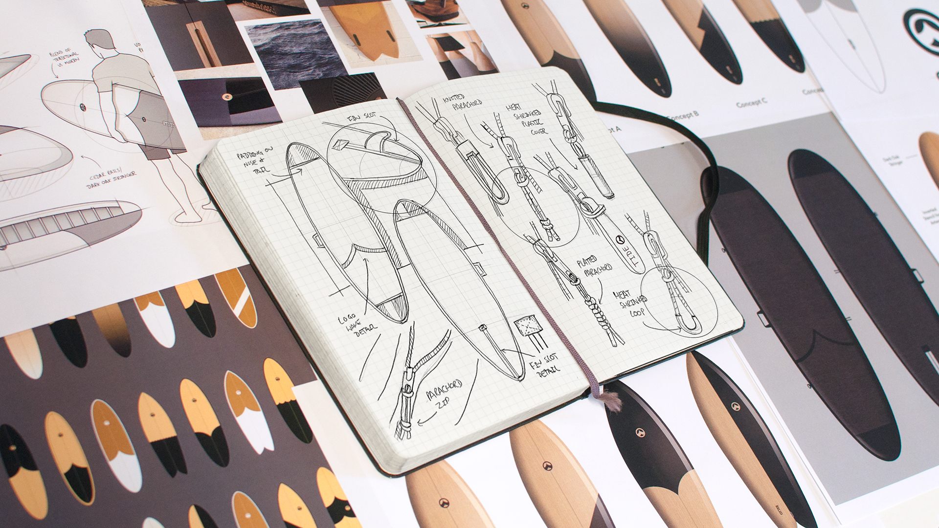Tide X Otter: Beautiful, Sustainably Designed Surfboard