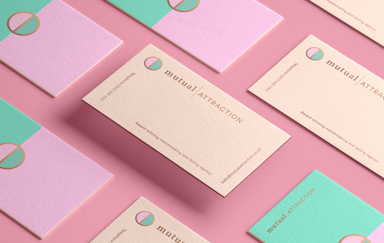 Illustration & Brand Identity: Brand Refresh for Mutual Attraction