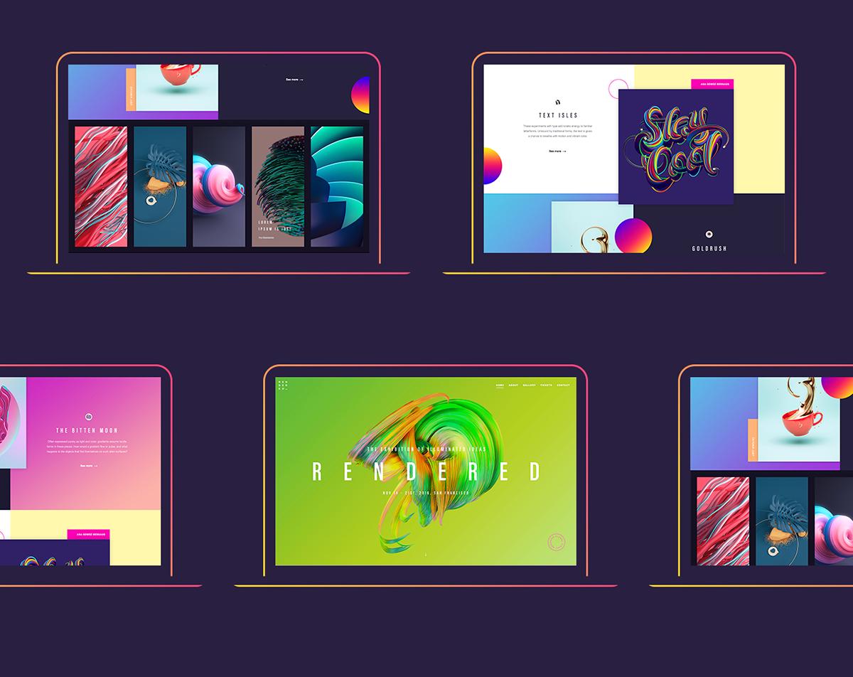 Rendered by Adobe - UI/UX