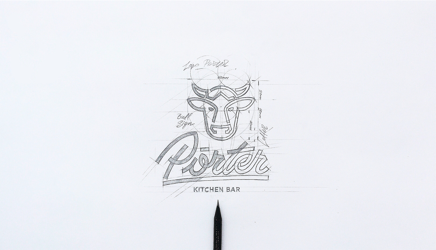 Branding: Porter the Kitchen Bar