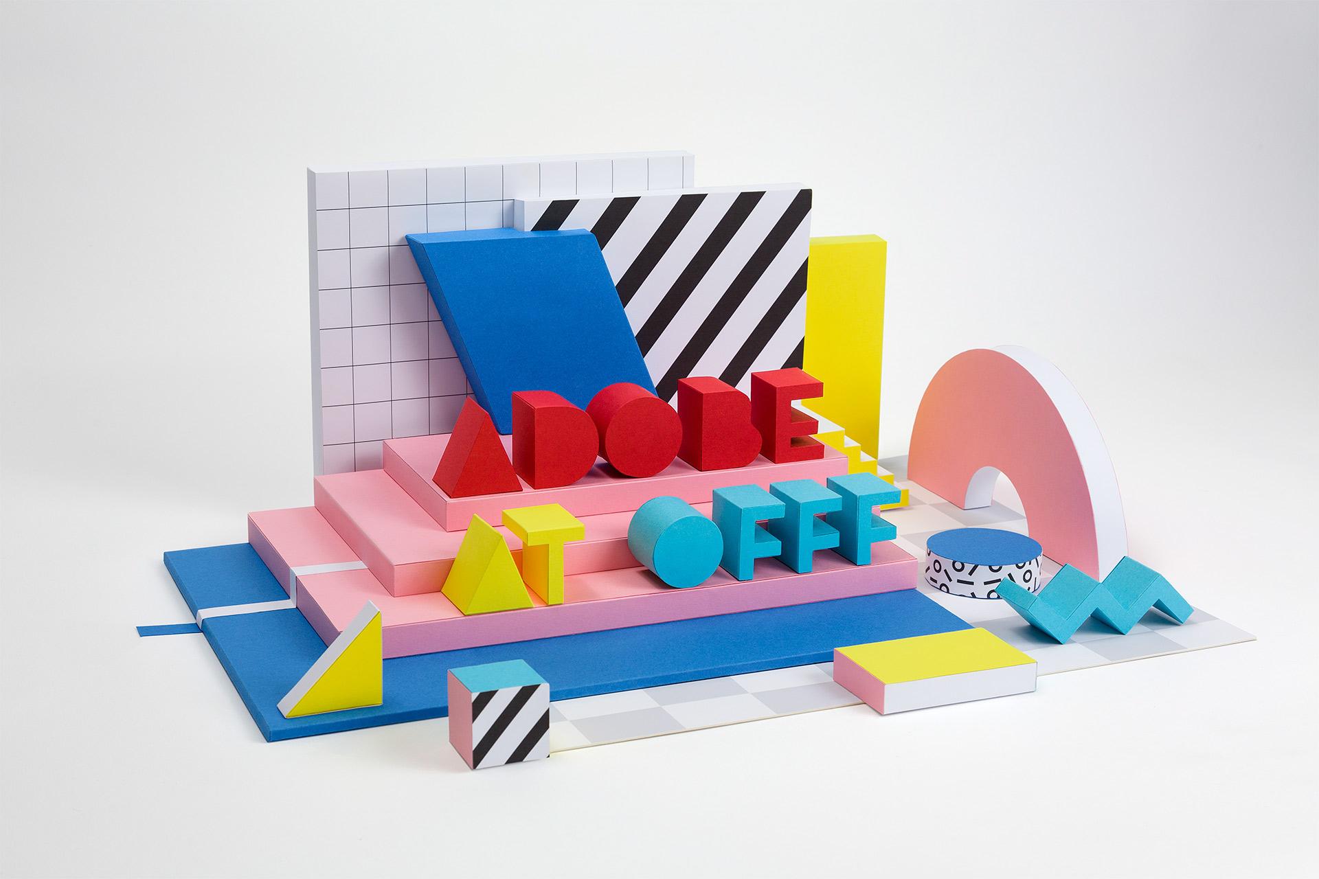 Set Design & Art Direction: Adobe at OFFF 2017