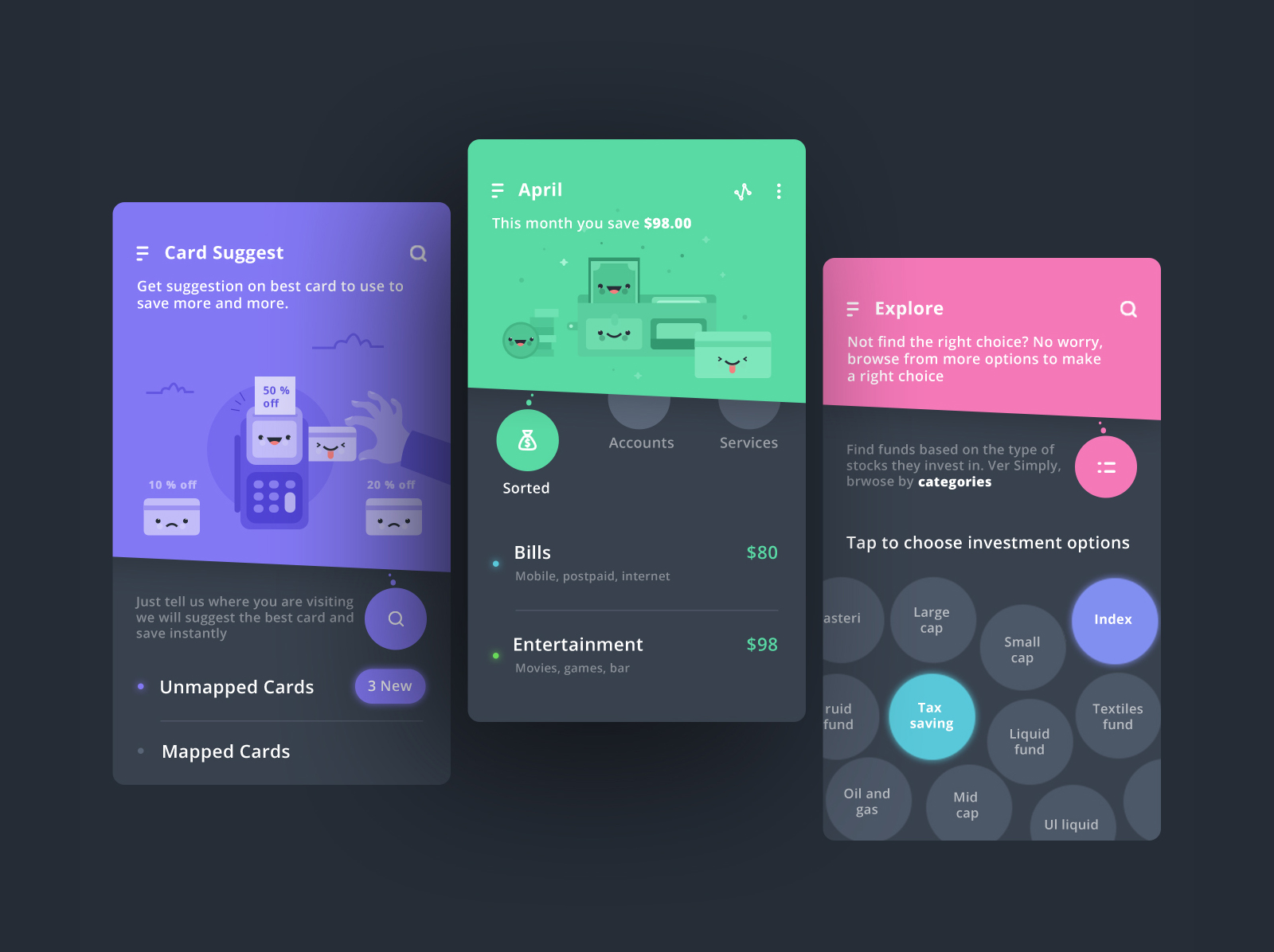 Interaction Design and UI/UX: Smart Expense App