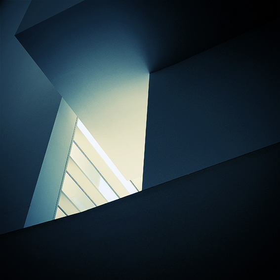Abstract Architecture Photography of Macba Barcelona