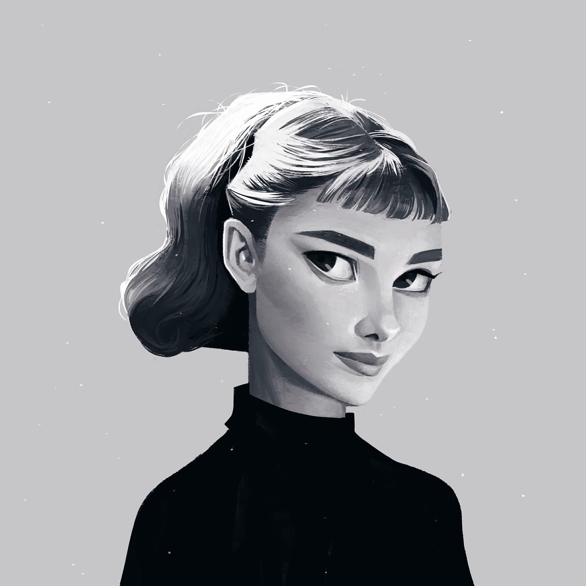 Voguish Portrait Illustrations by Janice Sung - paul ...