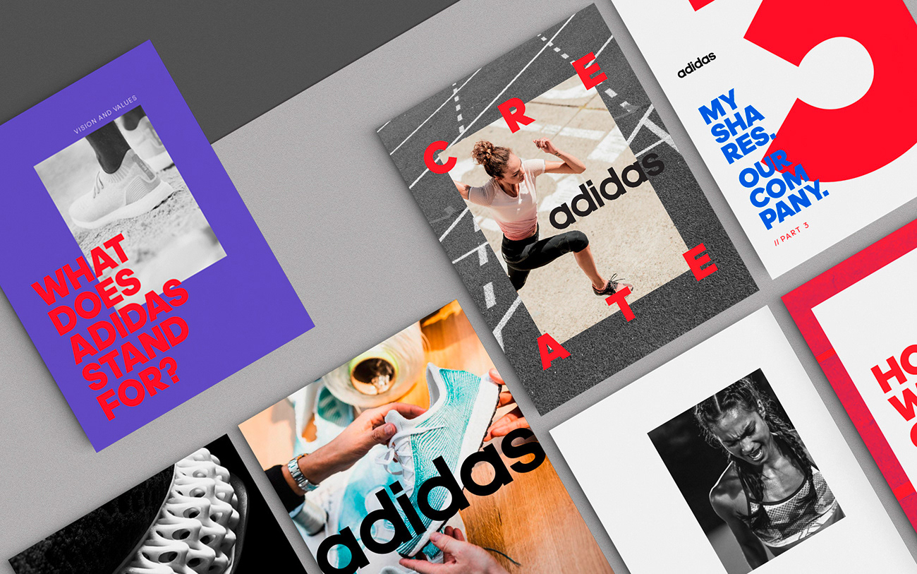 New Company Brand Direction for adidas