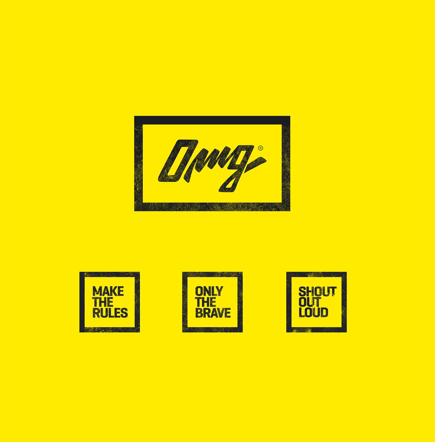 Branding & Graphic Design: OMG Clothes
