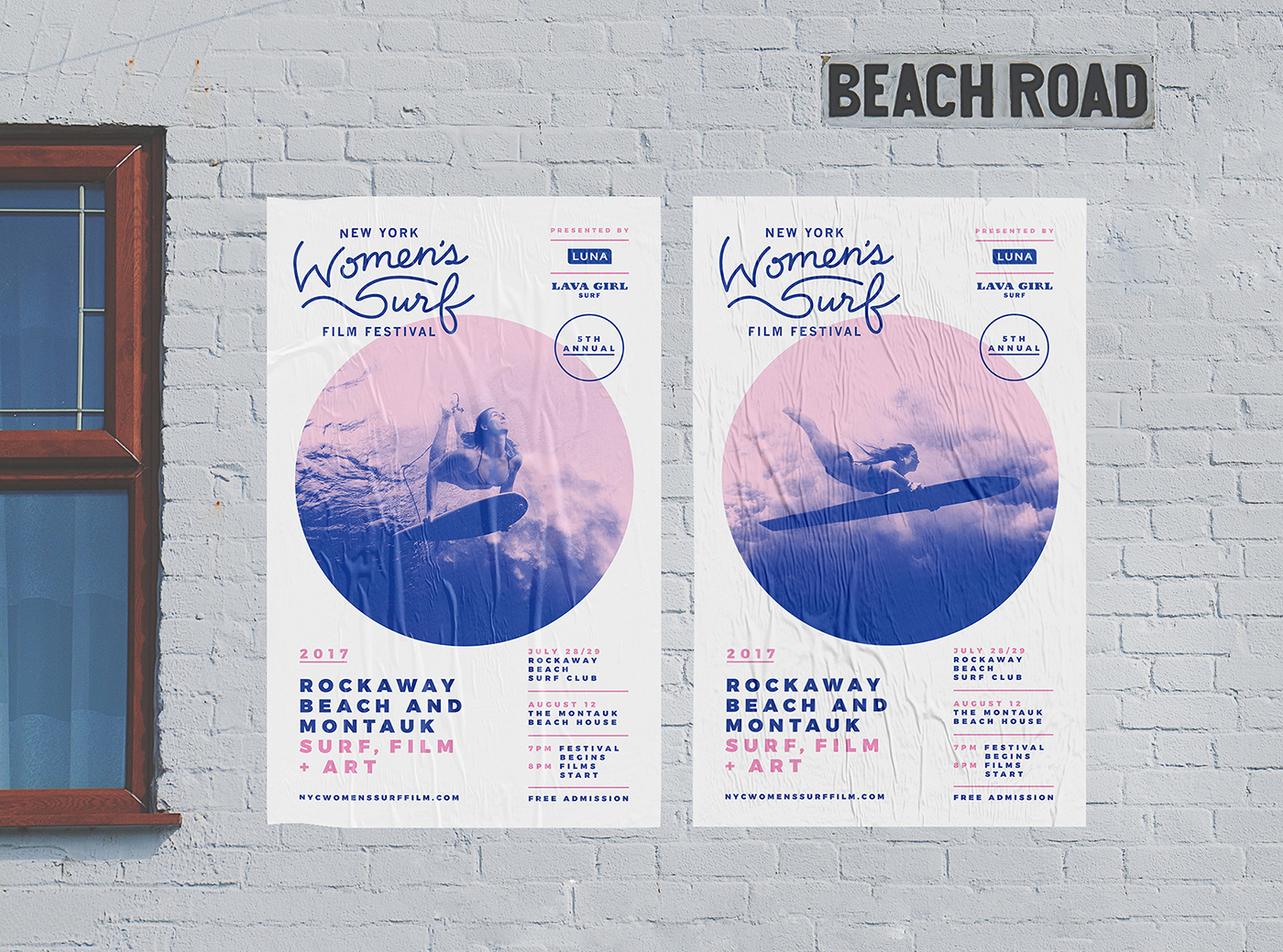 Brand Identity: New York Women's Surf Film Festival