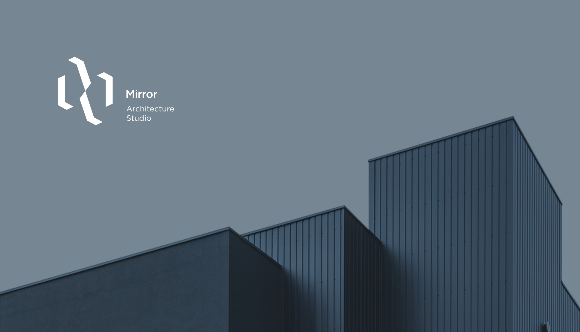 Minimalist Brand Identity for Architecture Studio Mirror