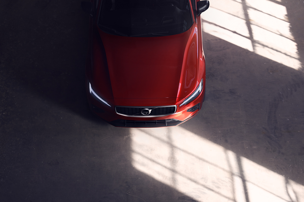 Car Photography: Photographing the new Volvo S60