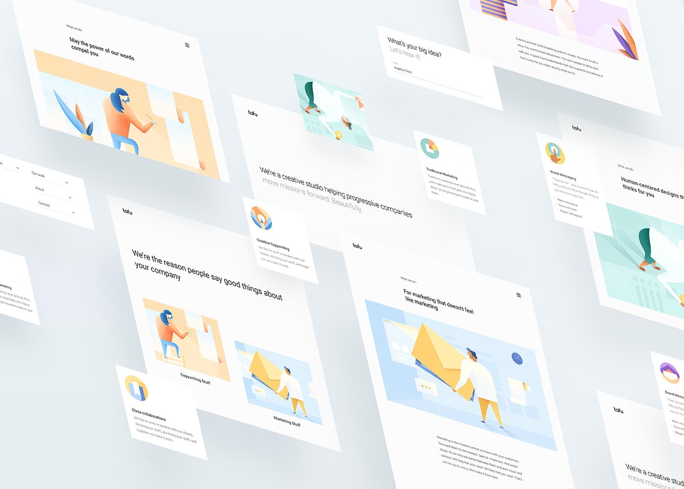 Brand Identity & Web Design for Tofu Design