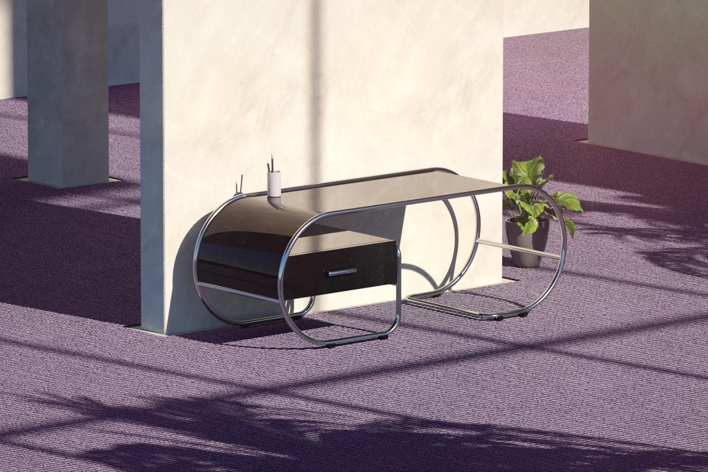abduzeedo.com - Furniture Design Inspired by Adobe Hidden Treasures