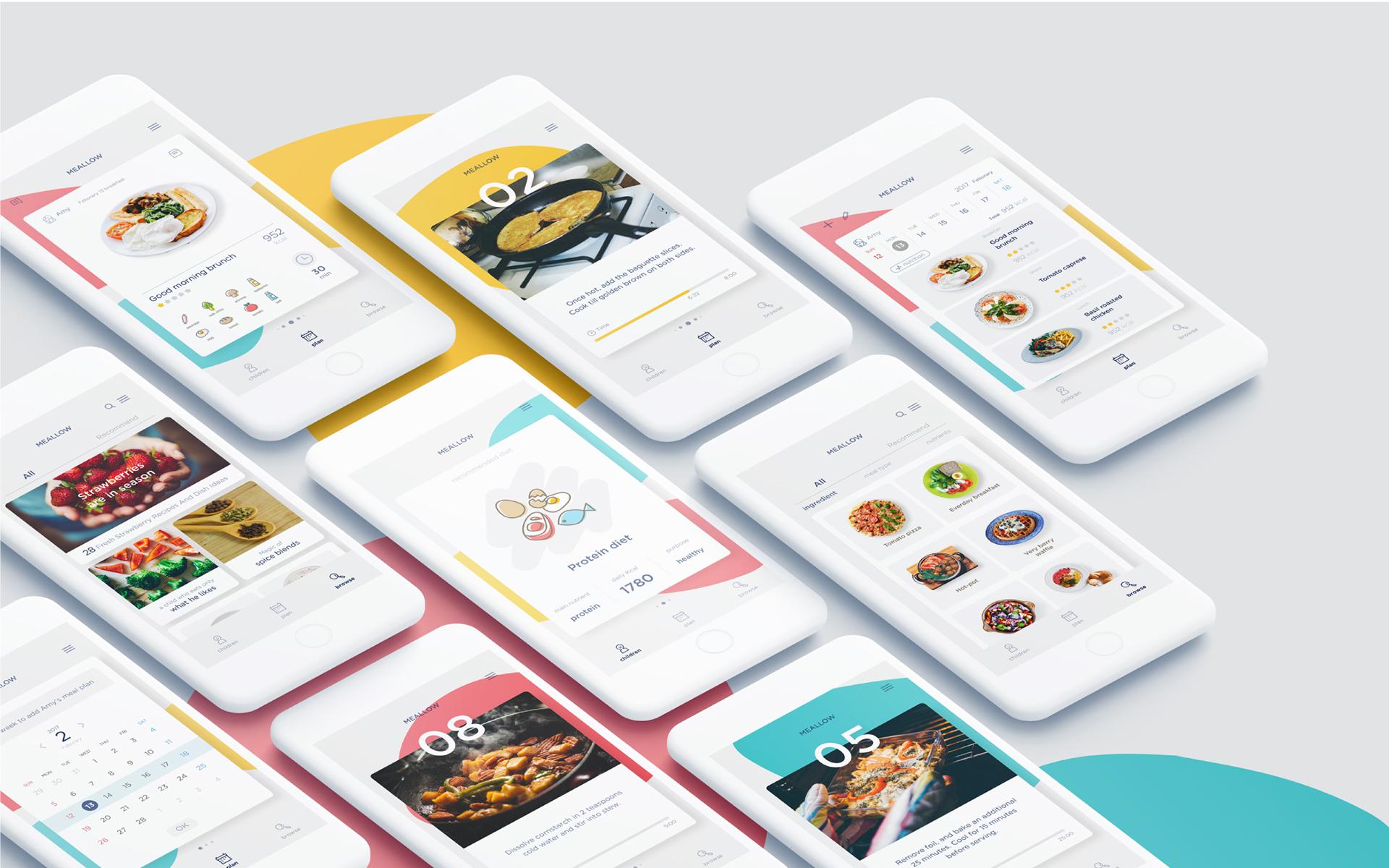 UI/UX & Interaction Design: Meallow App