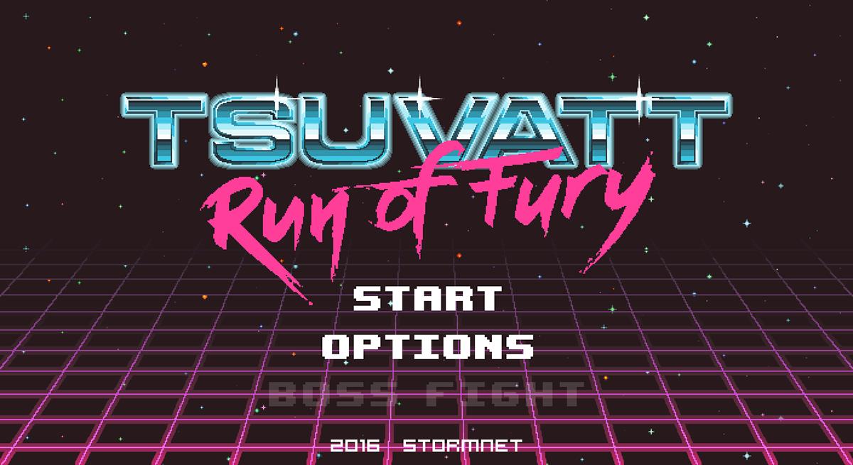Tsuvatt Run of Fury Game Design