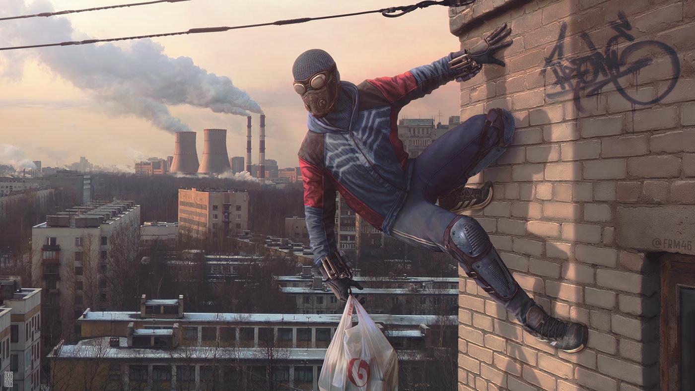 An alternative Spider-Man: Северный Паук