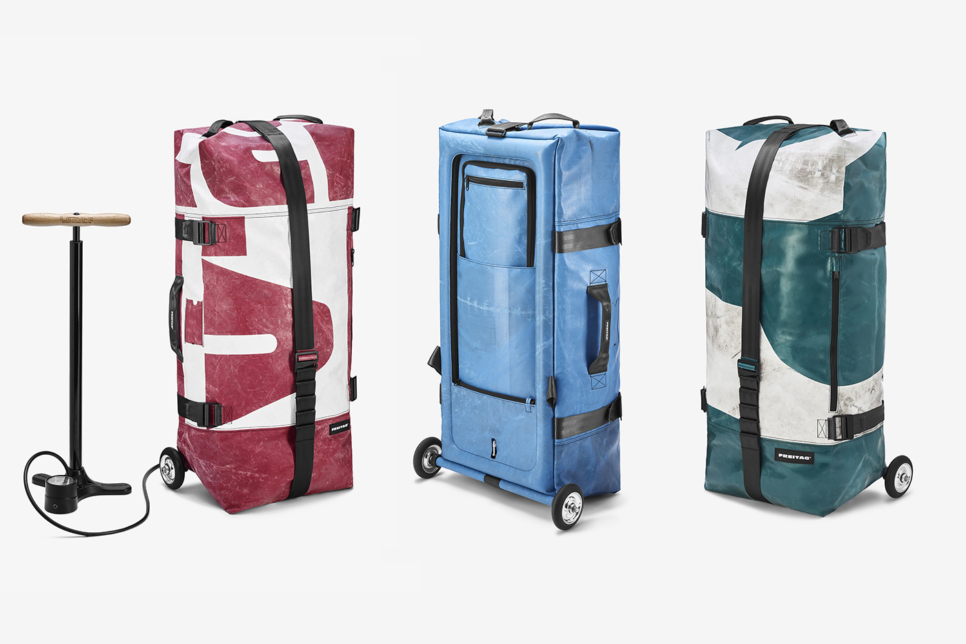 Introducing ZIPPELIN: a Travel Bag and Inflatable