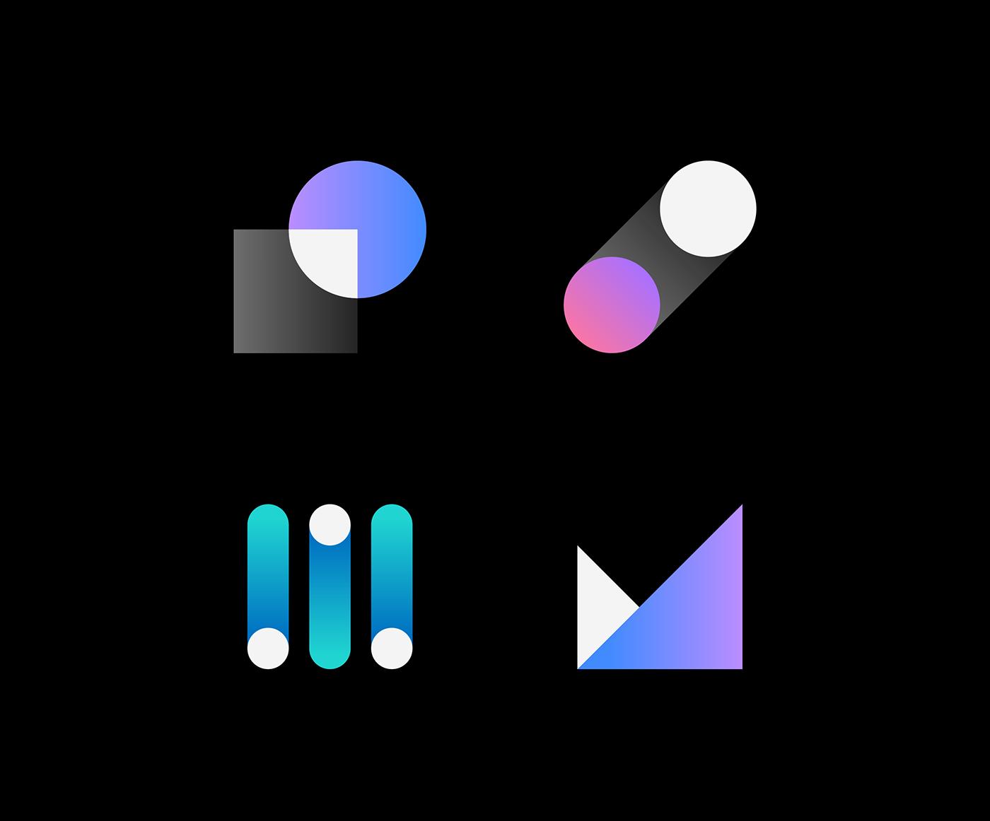 IBM App Icon Design & Visual Language