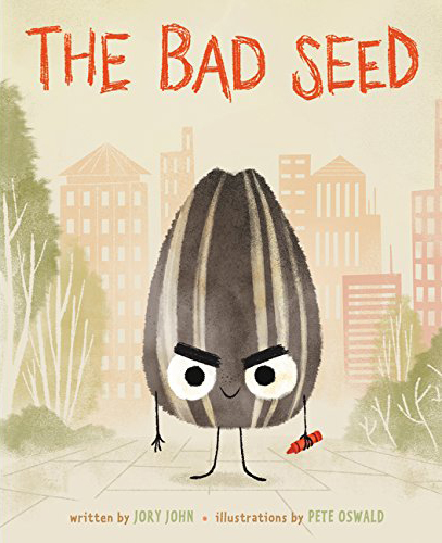 Children's Book Illustration Love: The Bad Seed by Jory John and Pete Oswald
