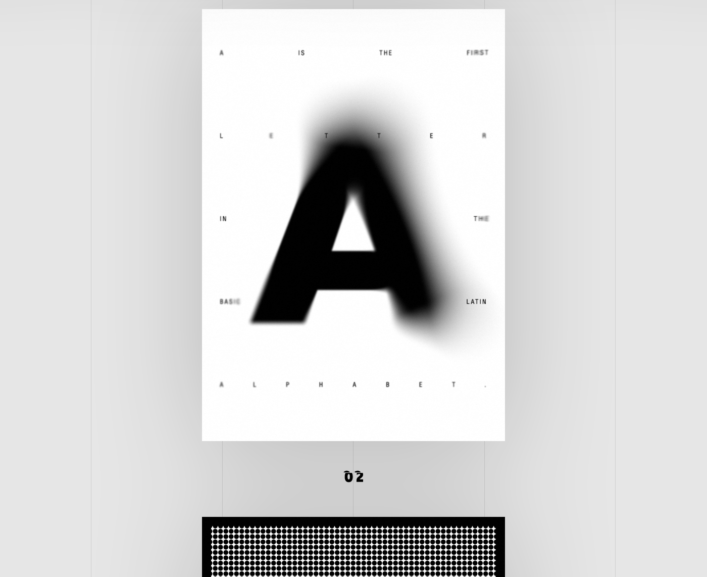 posters with letter a