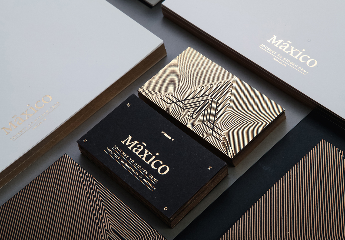 Brand Identity & Graphic Design: Máxico Identity