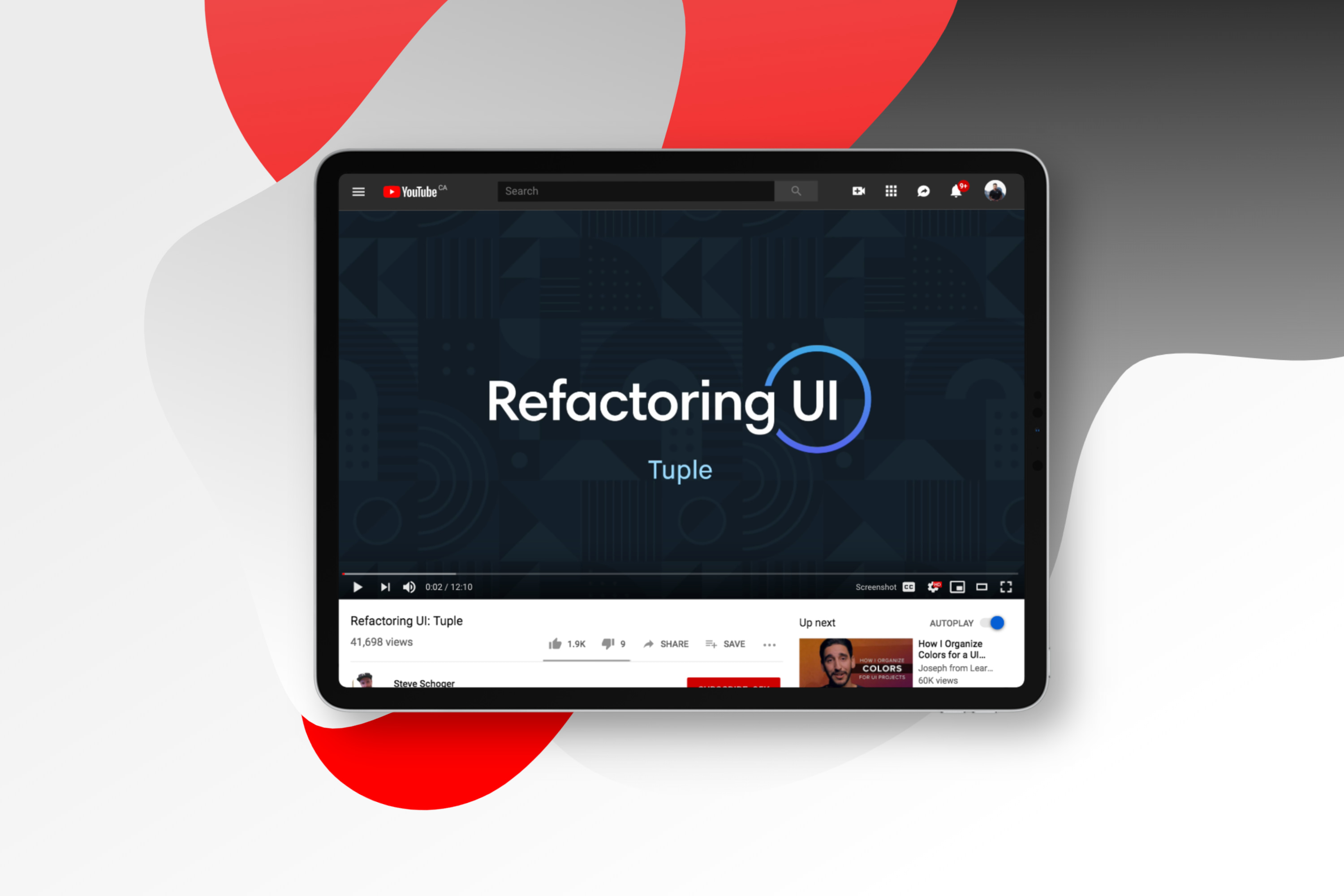 YouTube Love: Refactoring UI Series with Steve Schoger