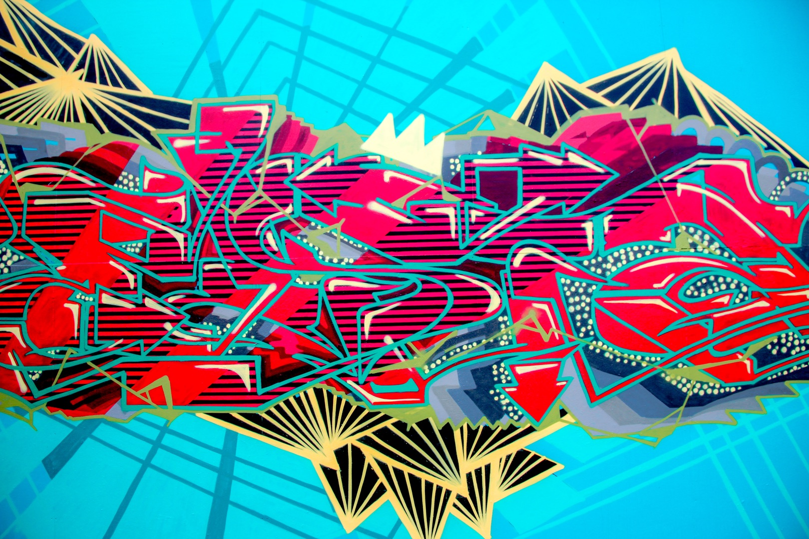 AR Graffiti Experiments with Different Elements of Graffiti