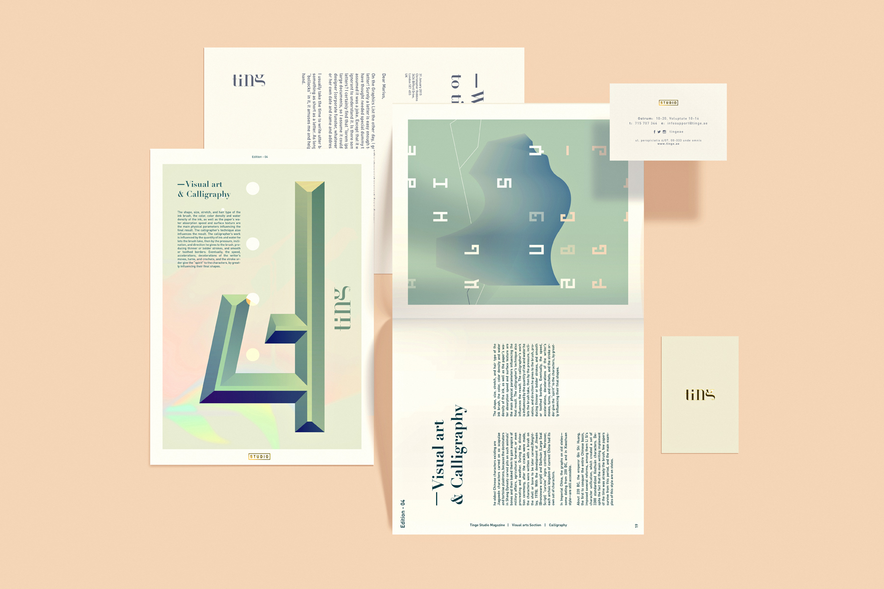 Editorial Design: Ting™ Branding