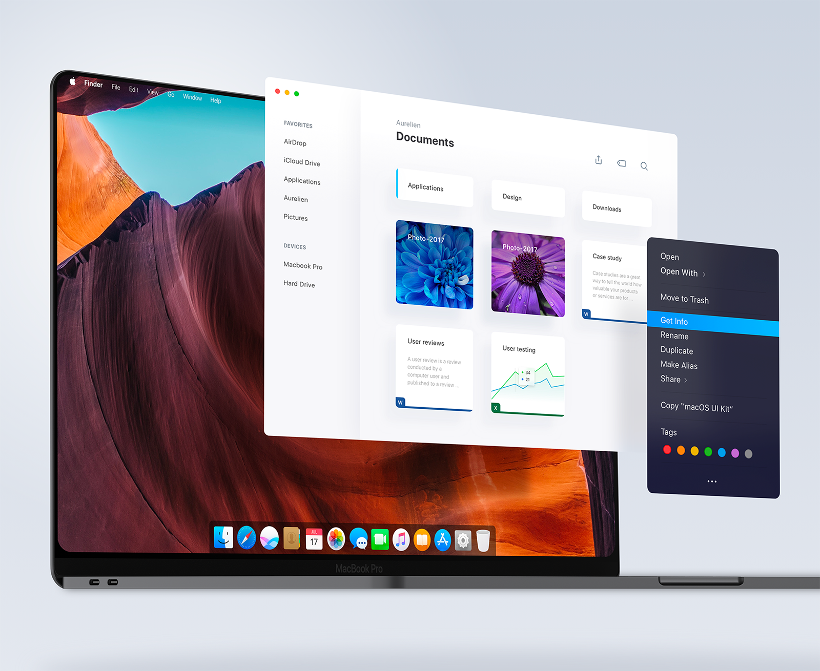 Redesigning Apple OS / MacOs 2020 with Edge to Edge Macbook Concept