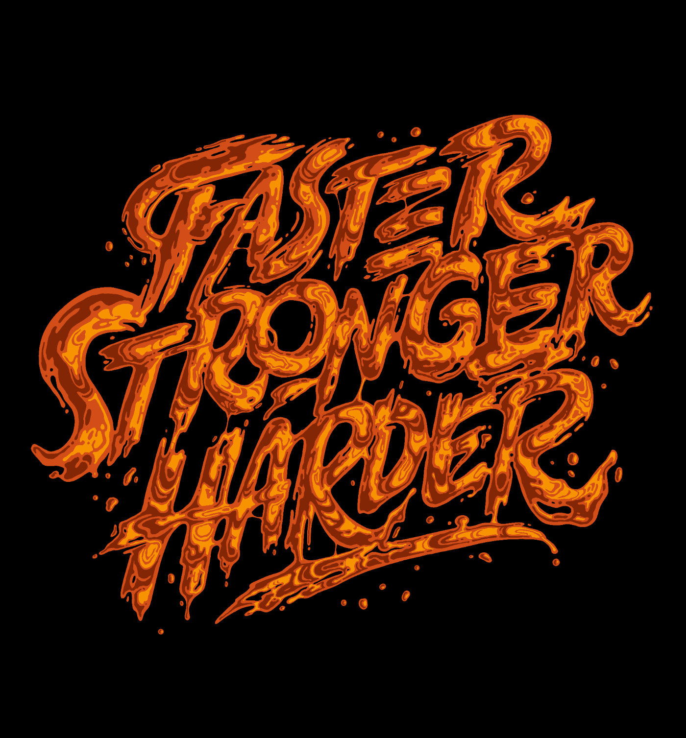 Liquid Lettering Collection