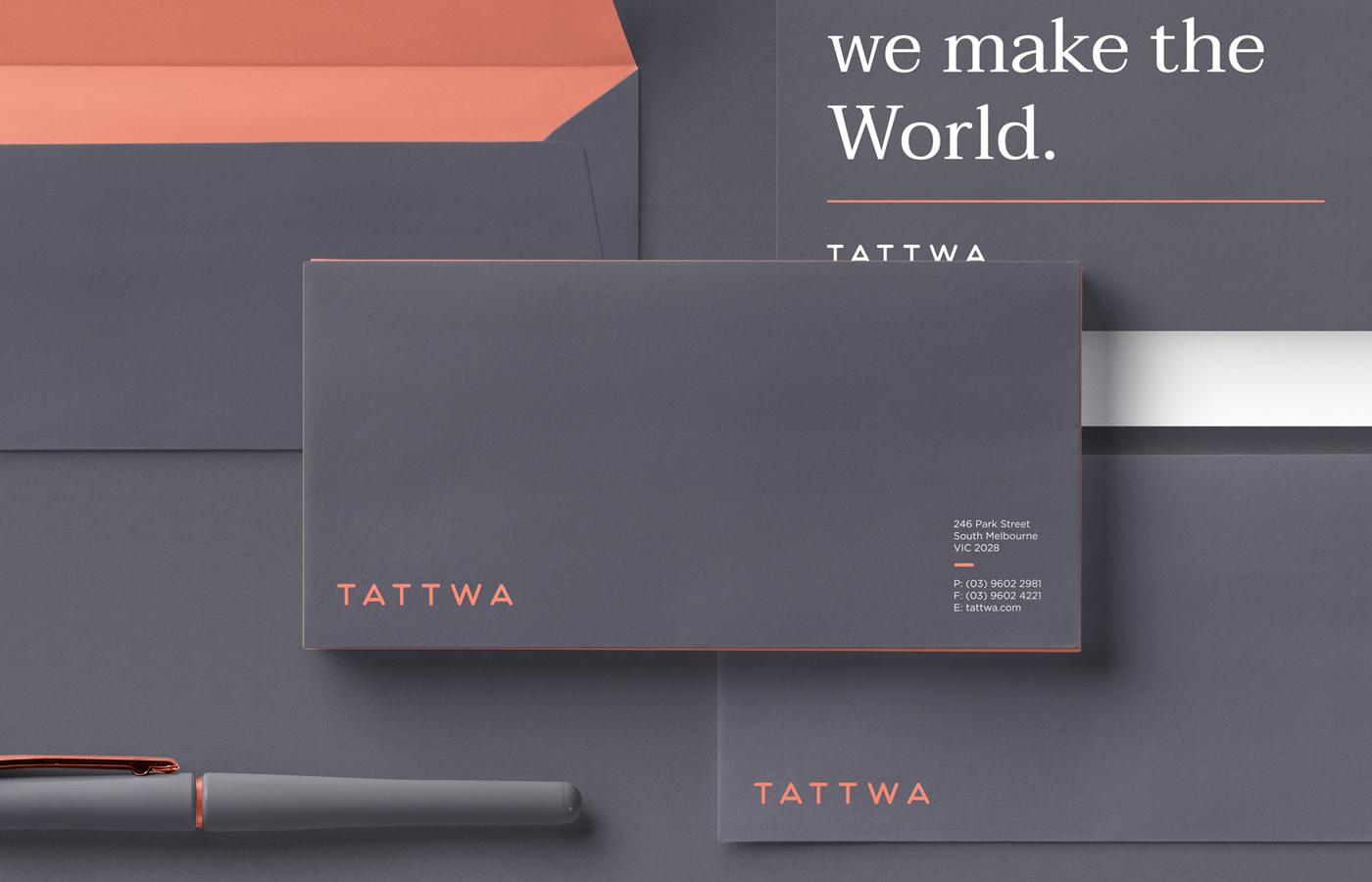 Stylish Brand Identity for Tattwa