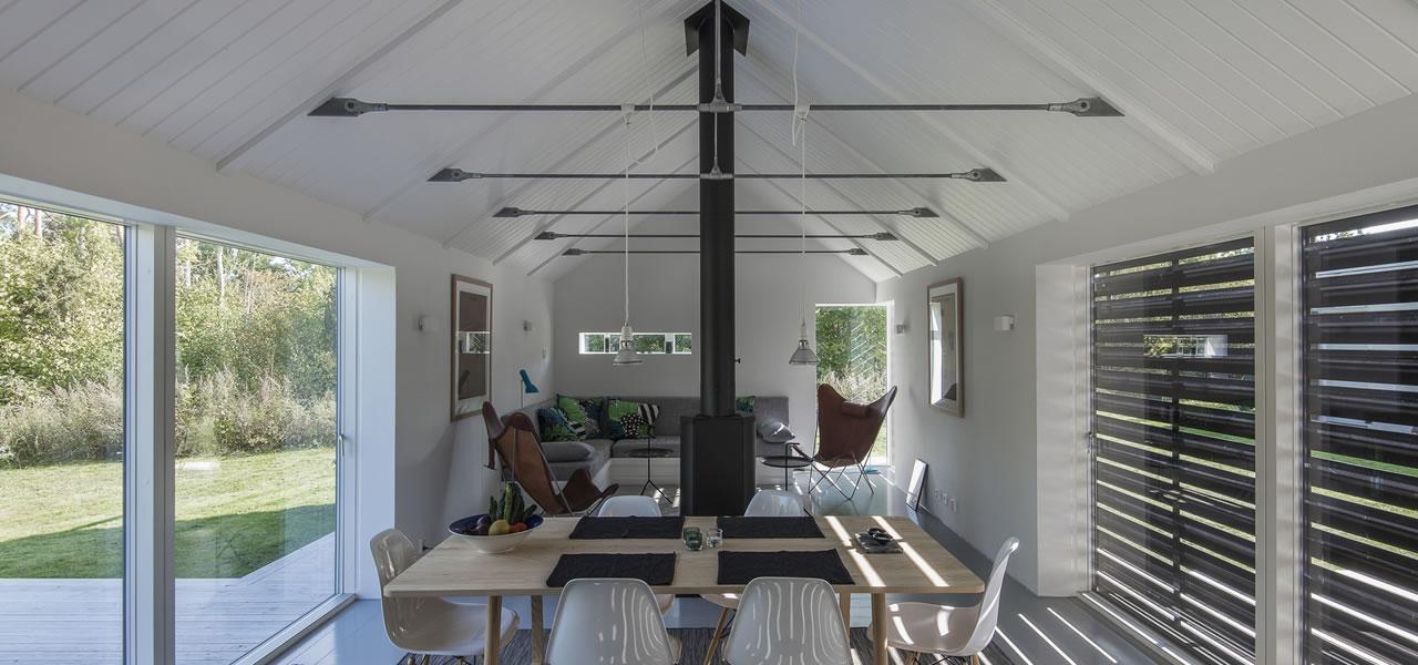 Modern Barn living: KD house in Sweden