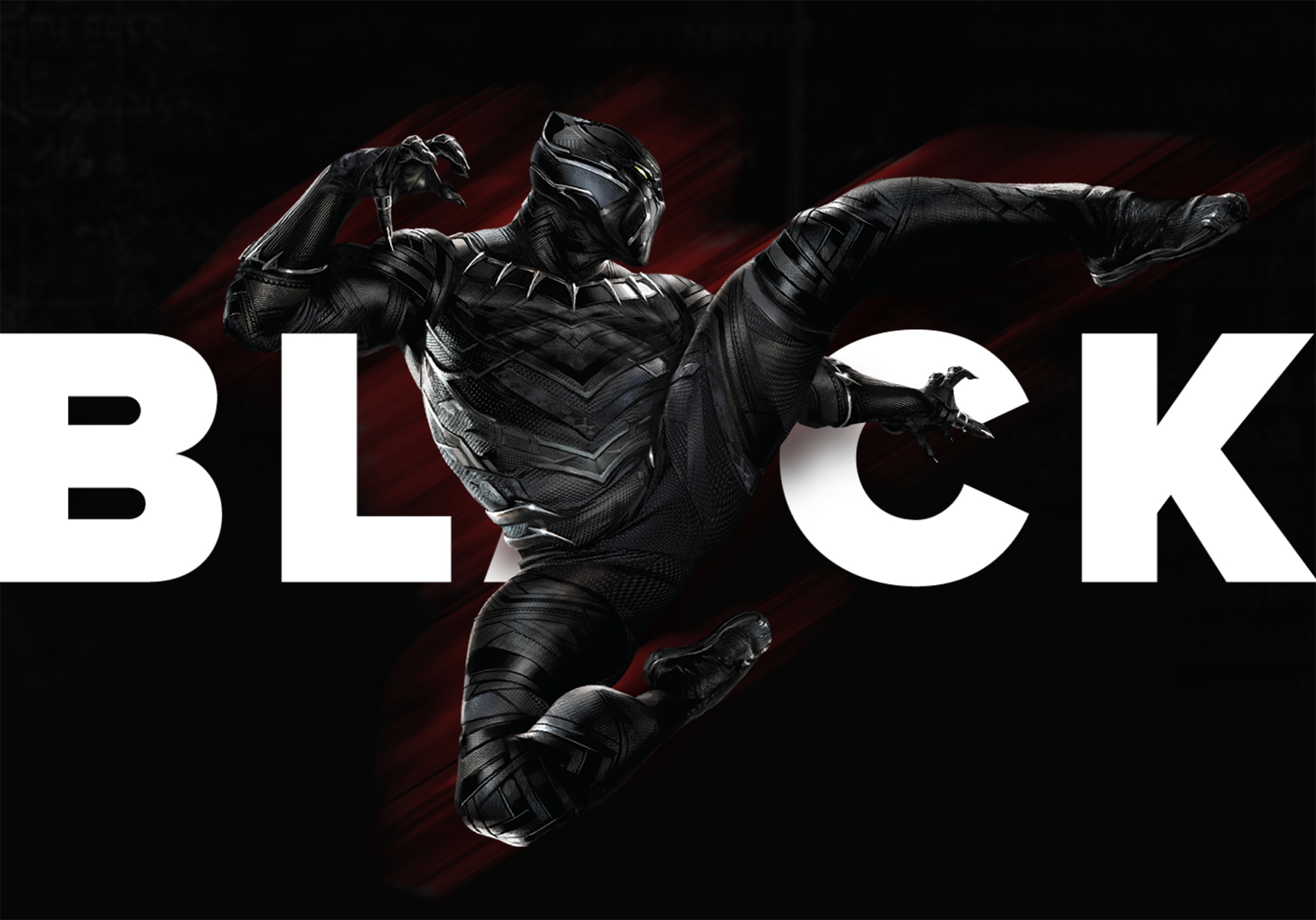 Awesome Web Design for Marvel Black Panther