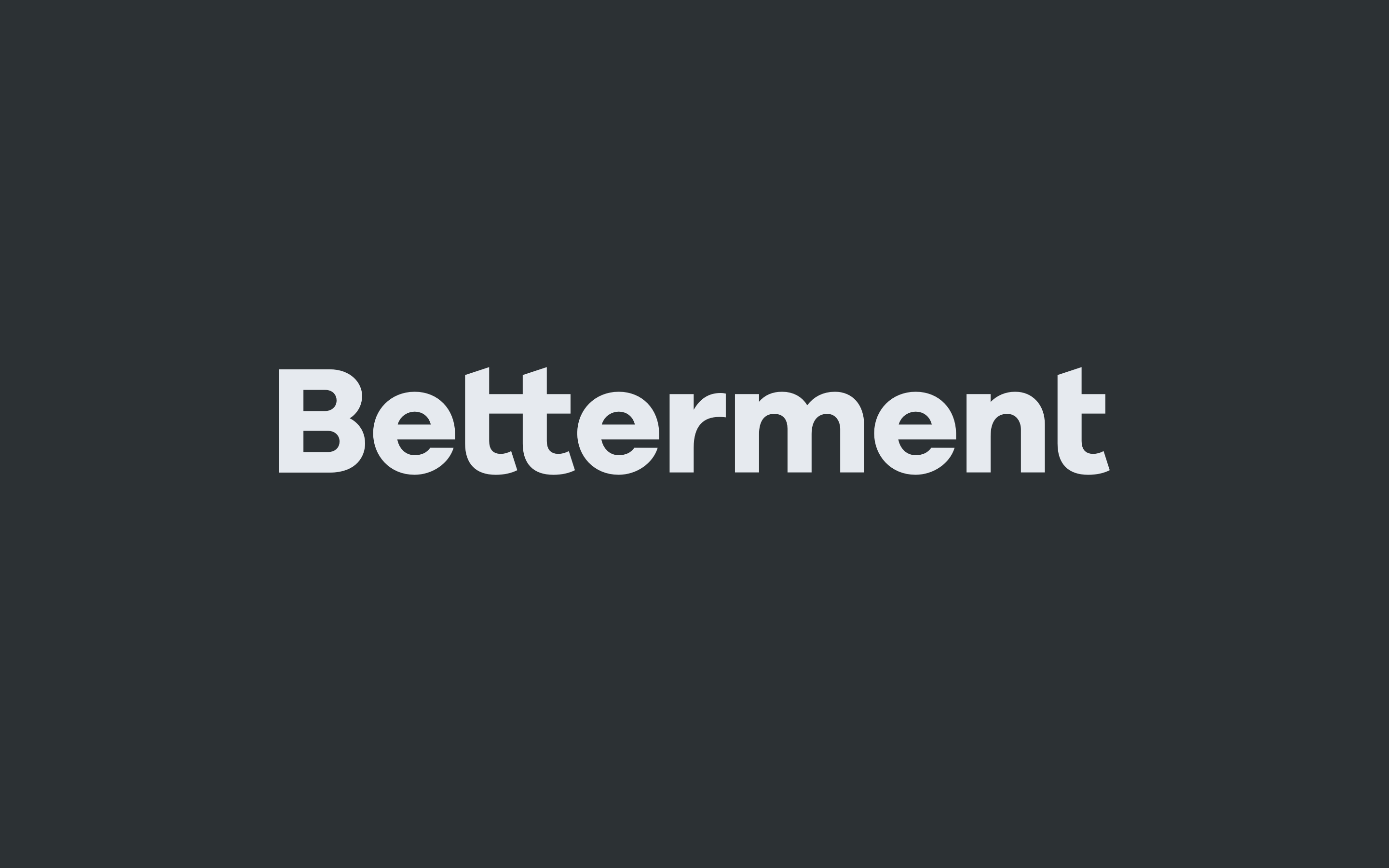 Simple and Elegant Brand Identity for Betterment