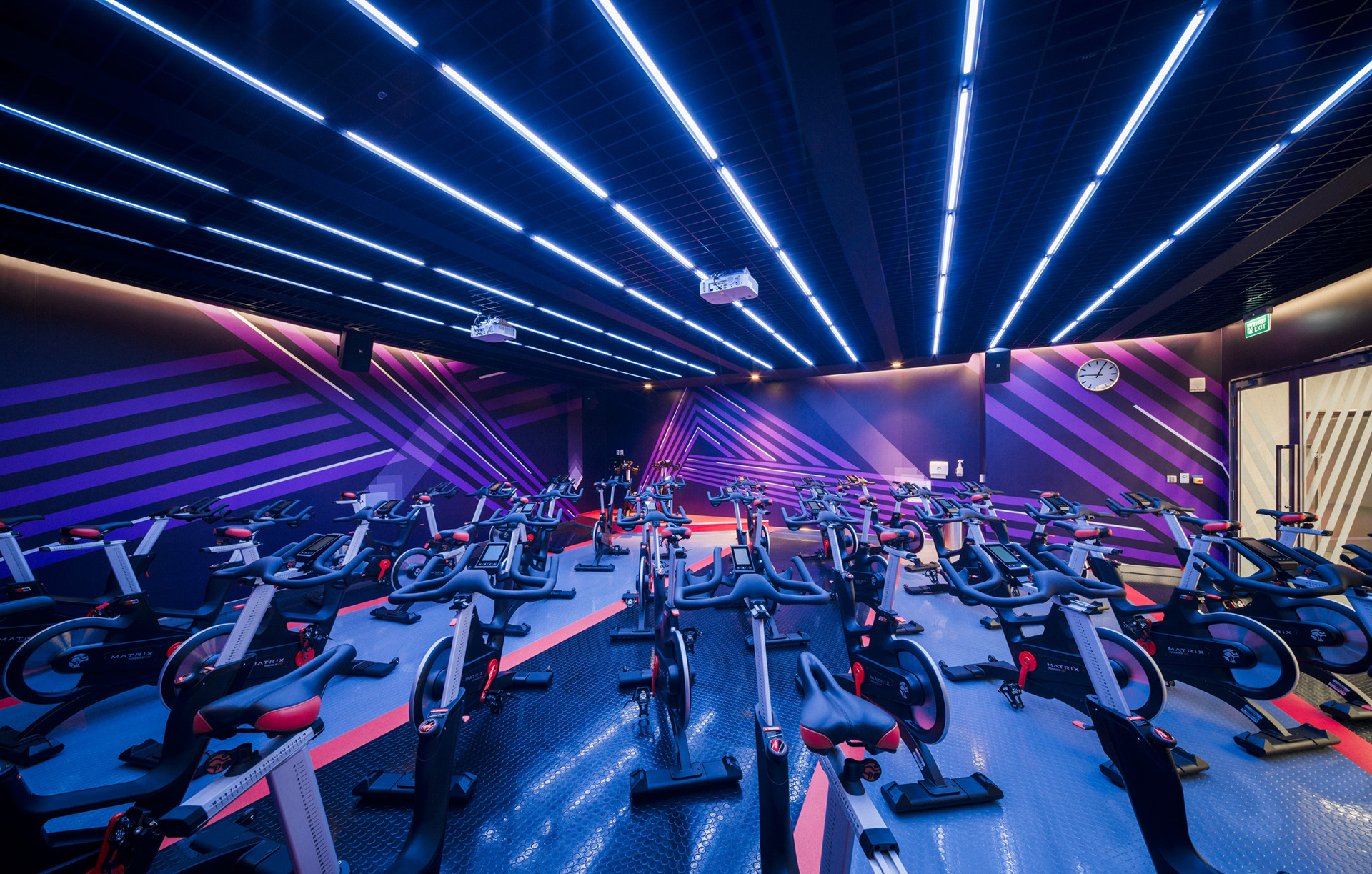 Interior Design: Virgin Active Fitness in Bangkok