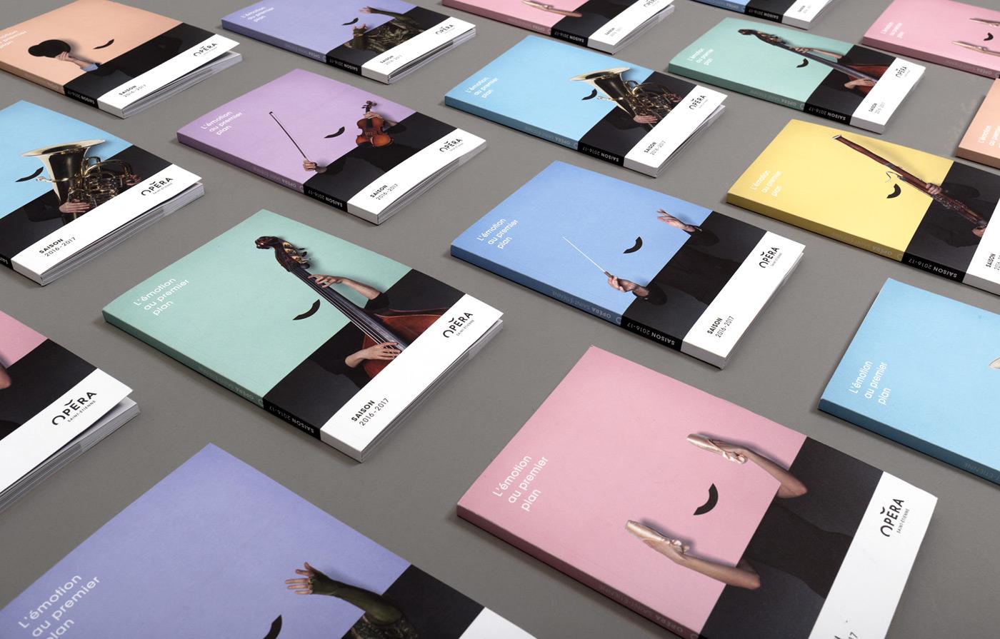 Opéra Saint-Étienne 2016 - Brand Design