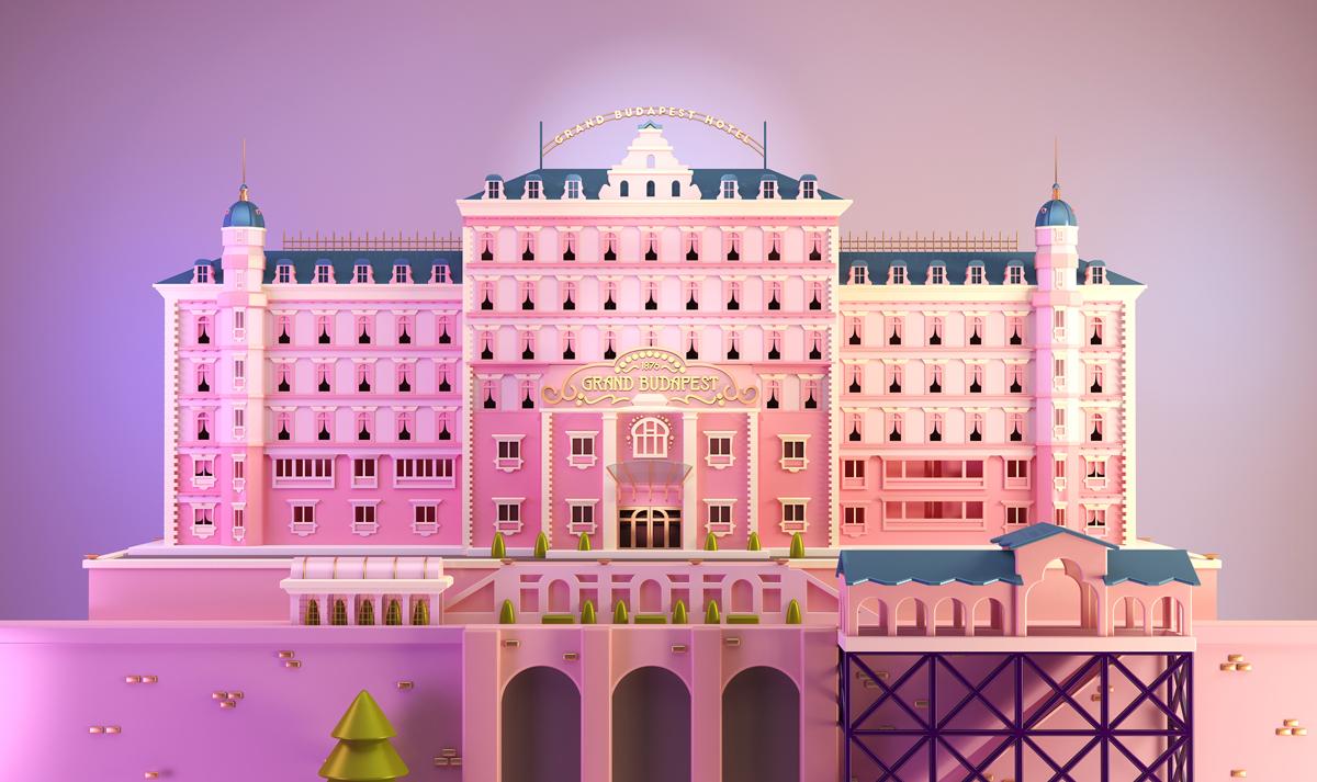 Santiago Moriv's Tribute to the Grand Hotel Budapest