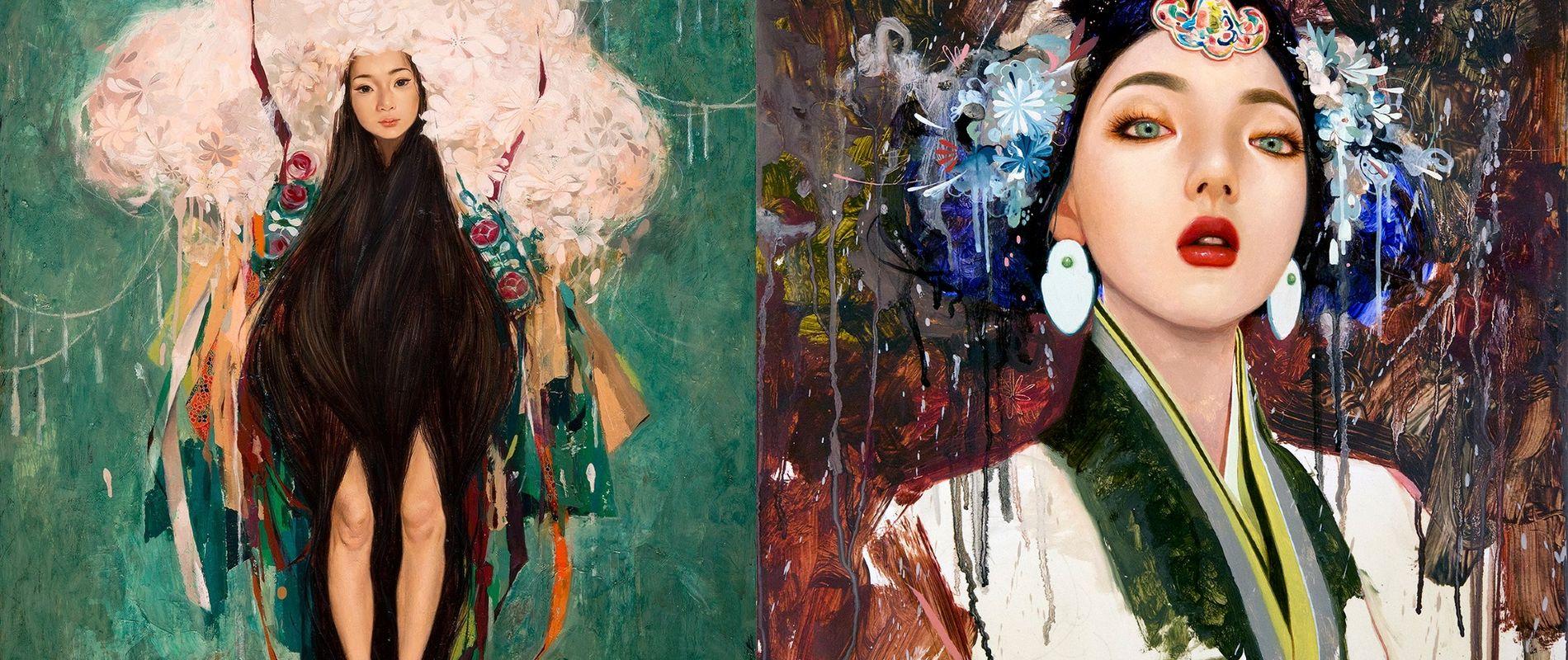 Exquisite Paintings by Soey Milk