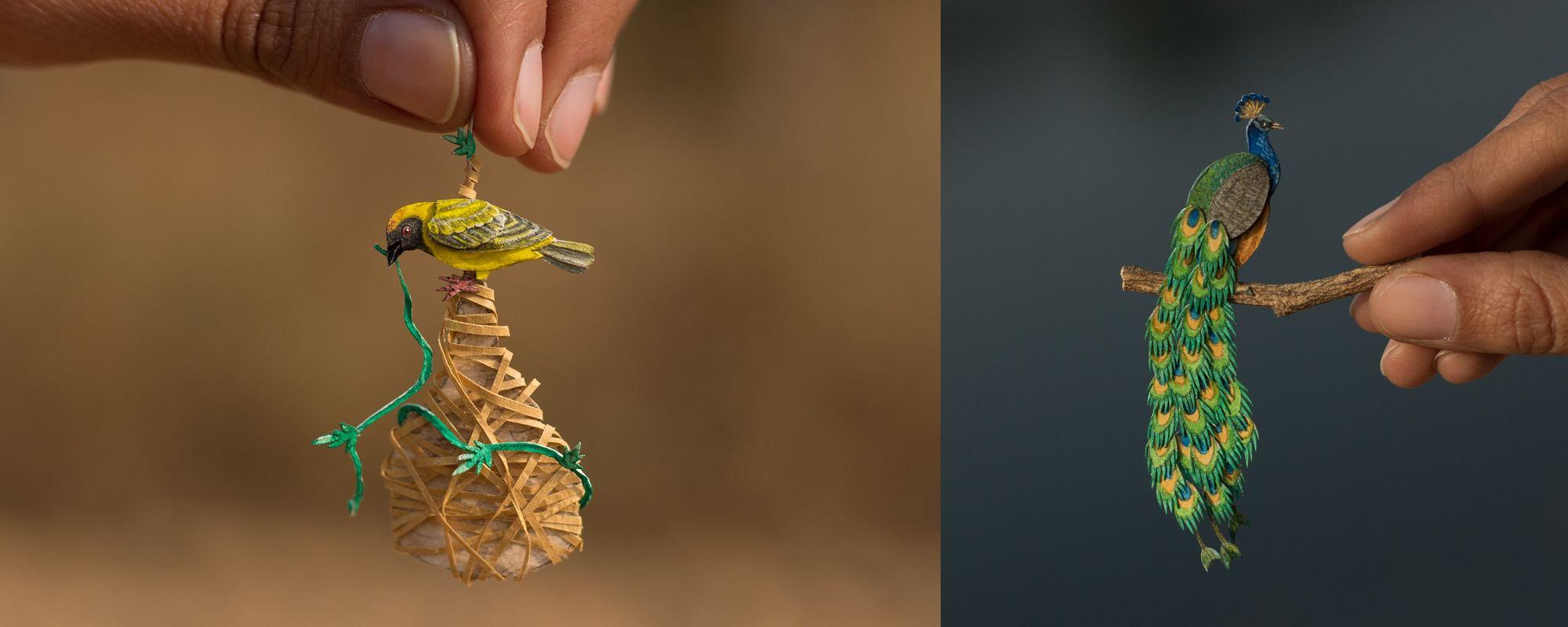 365 Days of Miniature, a beautiful Paper Cut project