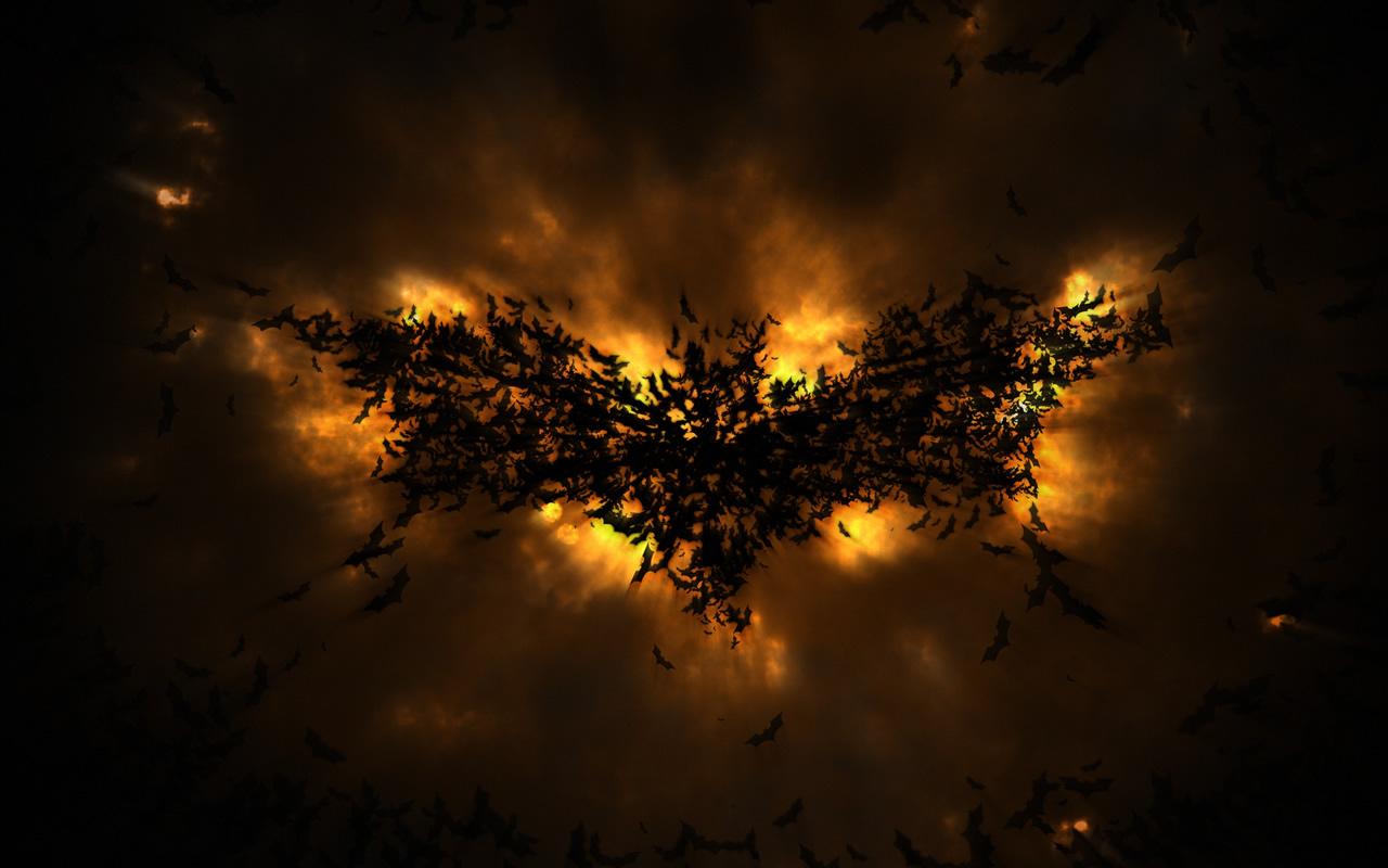 Dark Knight In Pixelmator