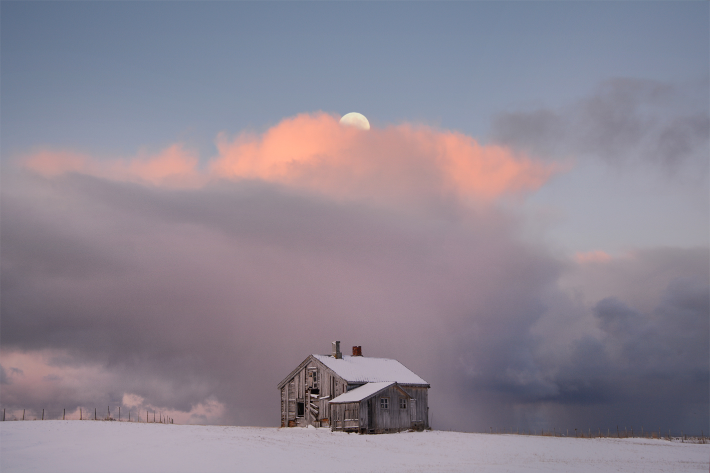 Captivating Moments With The Moon by Bjørg-Elise Tuppen