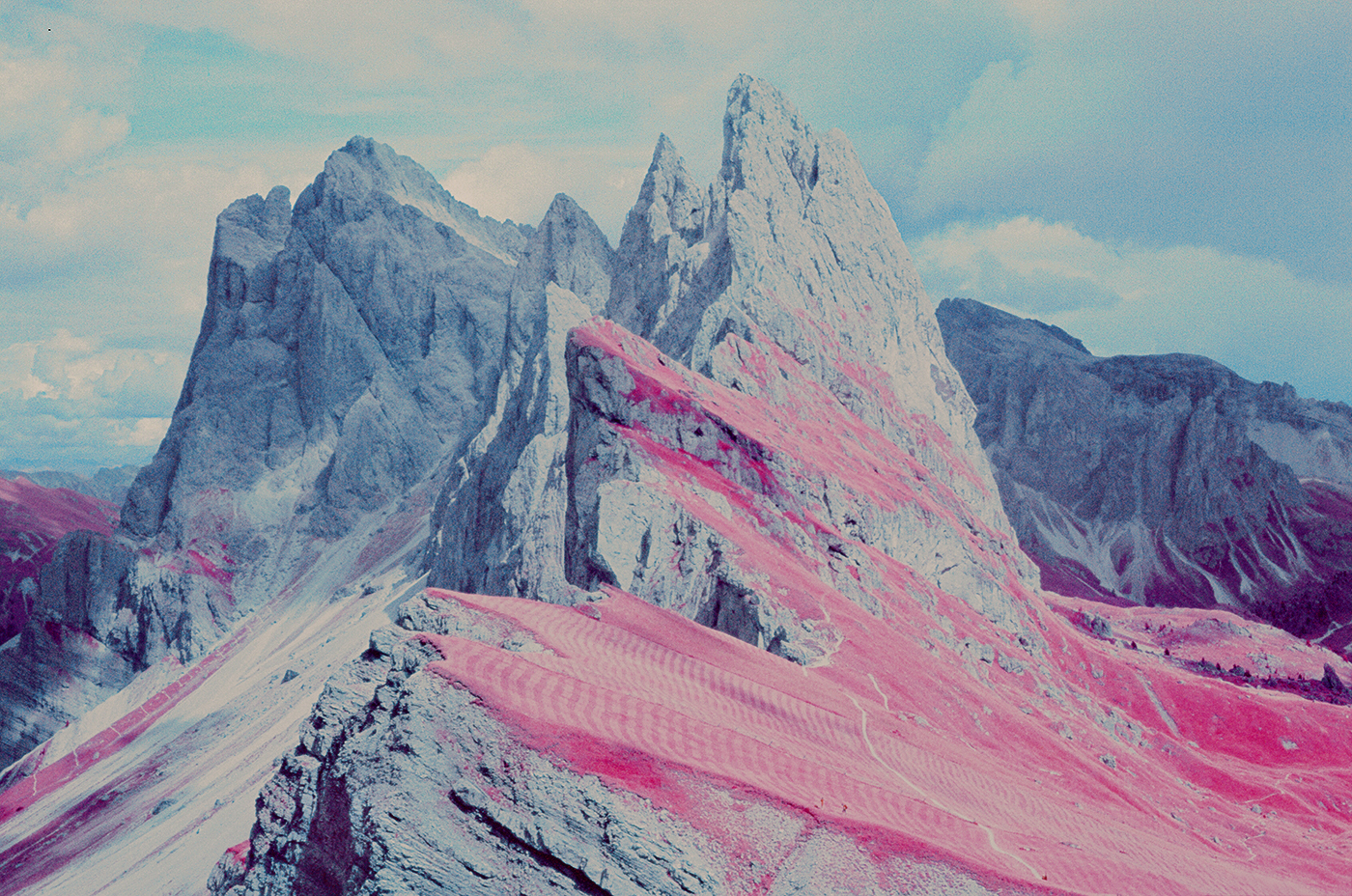 Dolomites in Infrared by Andrea and Francesco Padovani