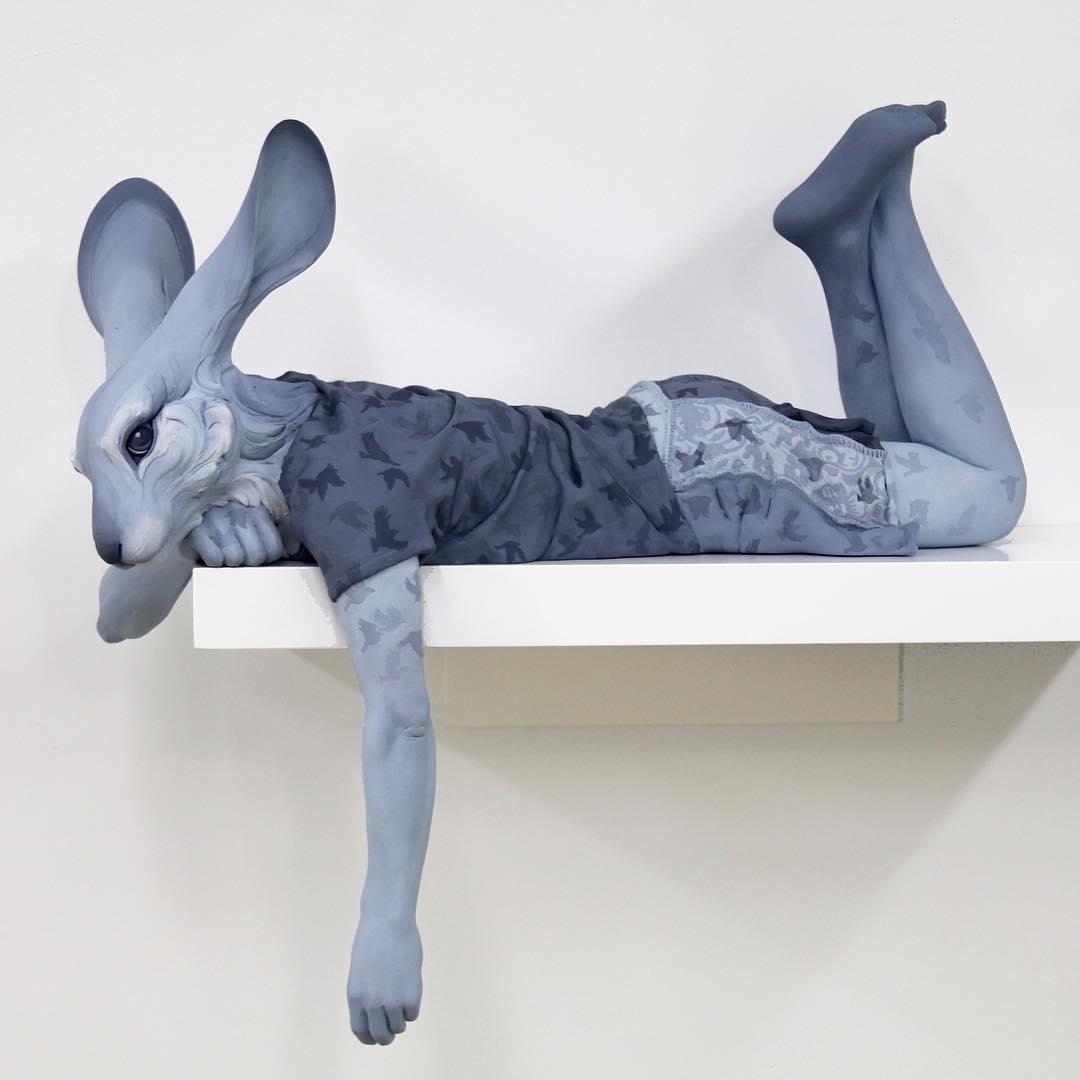 Unbelievable Animal Sculptures by Beth Cavener
