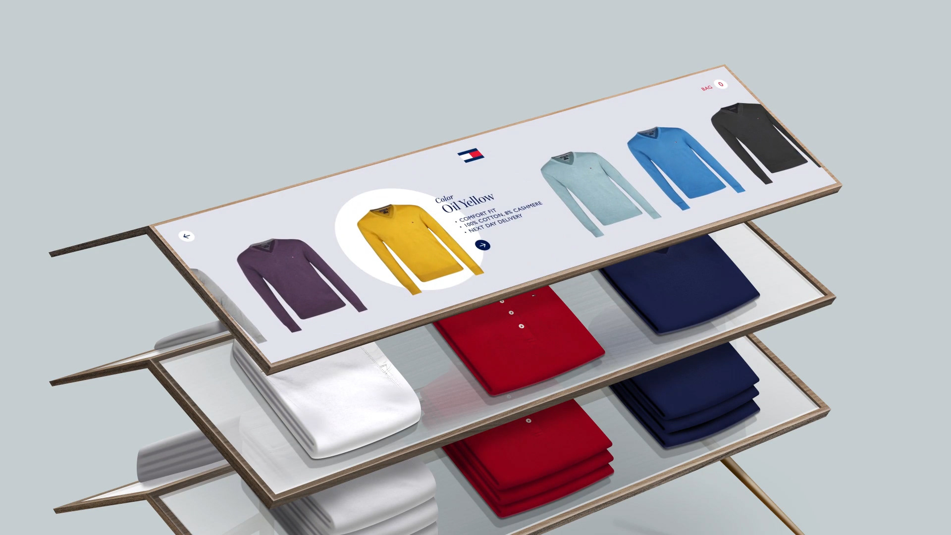 Tommy Touch: Rethinking the retail experience with Tommy Hilfiger